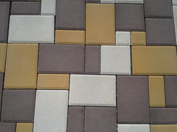 Фото  1 Производство прессованной тротуарной плитки Кирпичик, Старый Город, Старый Рим (35мм, 45мм, 60мм). 117467