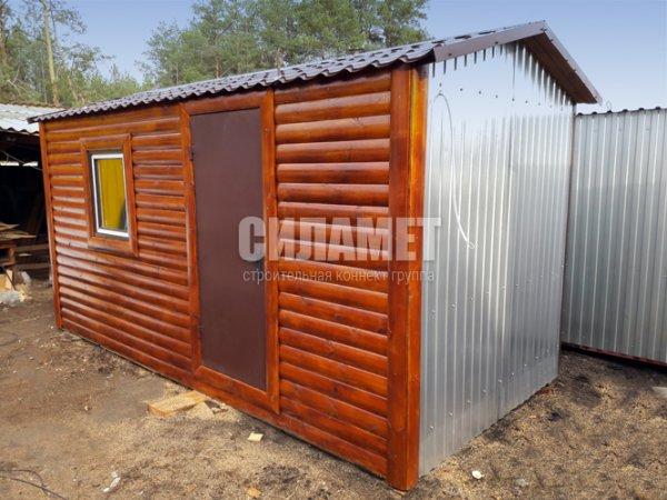 Бытовка 6х2.4м для дачи и офиса