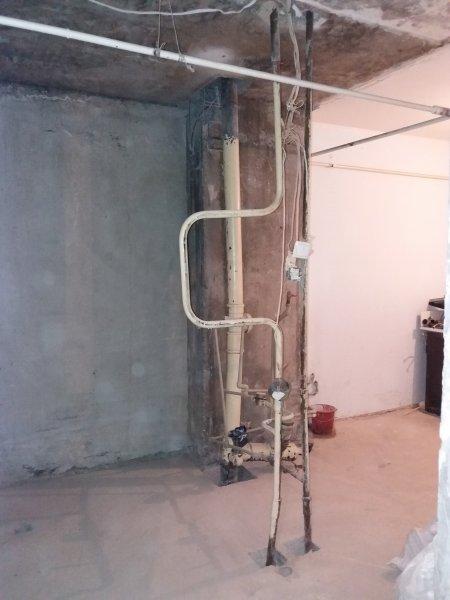 Фото  1 Демонтаж кабины санузла в панельном доме в квартире 1872725