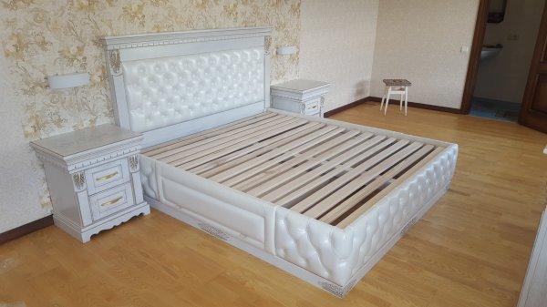 Фото  1 Спальня из массива Дуба. Натуральная Кожа, мягкое изголовье 1930859
