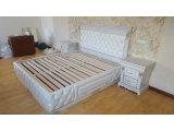 Фото  3 Спальня из массива Дуба. Натуральная Кожа, мягкое изголовье 3930859
