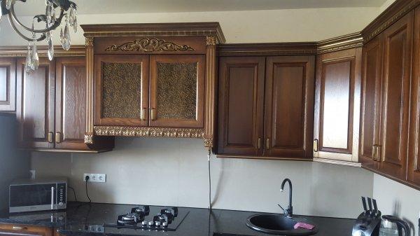 Фото 3 Кухни из гнутыми фасадами из массива Дуба 332430