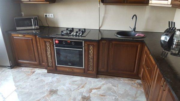 Фото 4 Кухни из гнутыми фасадами из массива Дуба 332430