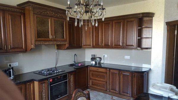 Фото 6 Кухни из гнутыми фасадами из массива Дуба 332430