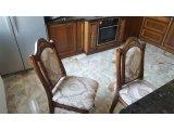 Фото  4 Кресло, Стулья из массива Дуба с резьбой. Кресло с мягкой спинкой 4930863