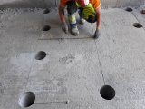 Фото 1 Прорізання ліфтового отвору в монолітній плиті товщиною 250мм 336213