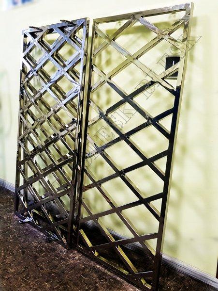Фото 1 Решетки на окна или двери из нержавеющей стали за квадрат 337327