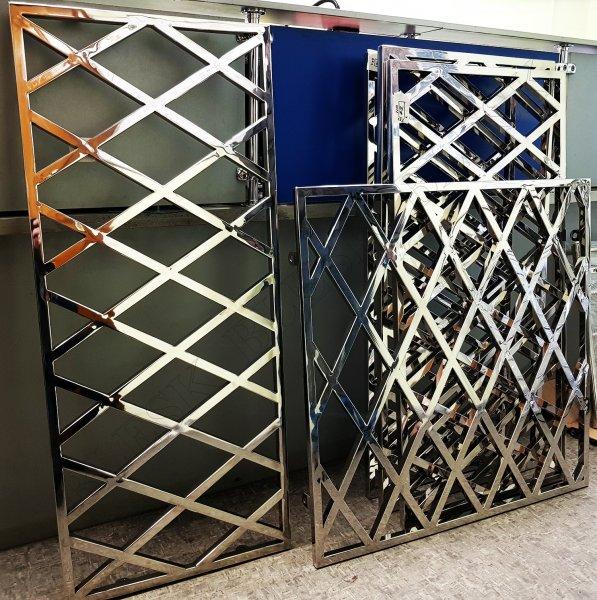 Фото 3 Решетки на окна или двери из н/ж стали за квадрат 337069