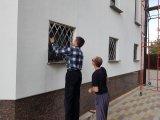 Фото 5 Грати на вікна з квадрата нержавійки 336971
