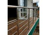 Фото  1 Балконные перила пандусы из нержавеющей стали под ключ 2084480