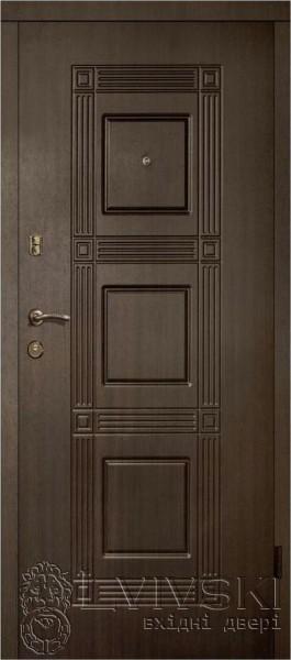 Двері вхідні ЛьвівськіСтандарт модель 202