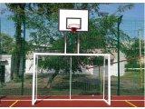 Фото  1 Ворота футбольные 3000х2000 с баскетбольным щитом из оргстекла 1000х700 2334717