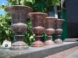 Мойки, раковины, чаши и вазы из натурального гранита ручной работы