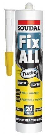 Фото  1 Soudal Fix All Turbo супер быстрый клей 1811887