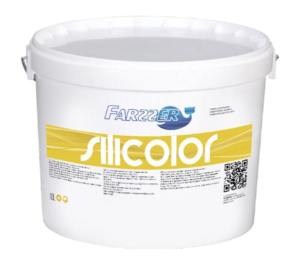 Фото  1 Farzzer Silicolor силиконовая краска для фасада и интерьера 1806874