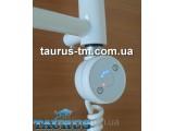 Круглый электроТЭН TERMA DRY white с таймером до 5 часов, белый. Польша. Подключение 1/2