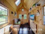Фото  1 Вагонка деревяна сосна 1-й та 2-й сорти, європрофіль. Цілісна, шліфована, суха. Розміри: 88х14 мм. 1972868