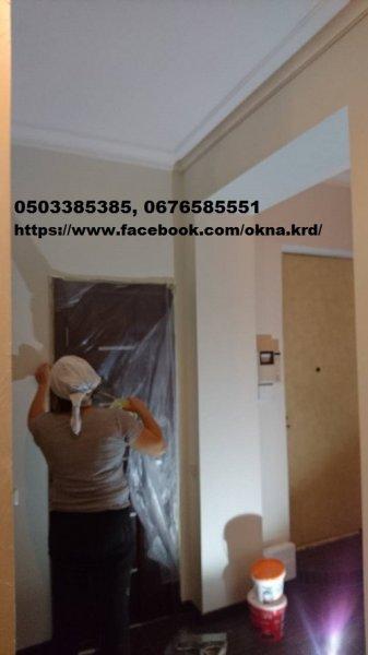 Фото 4 Ремонт, отделка, гипсокартонные работы, поклейка обоев Киев. 335693