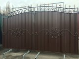 1 Ворота с профлиста,ворота с калиткой,Кривой Рог 331686