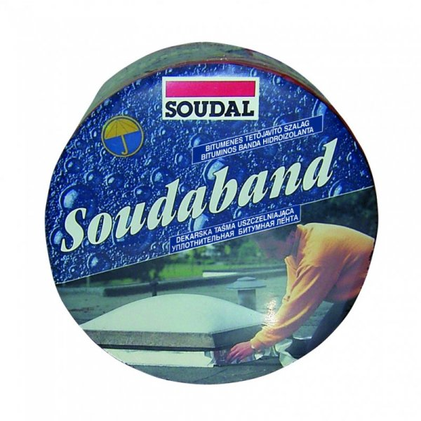 Фото  1 Soudal Soudaband битумная лента 10м (ширина 15см) 1811880