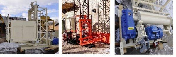 Фото 3 Н-27,25 м, 1 т. Мачтовые Подъёмники для подачи стройматериалов 337021