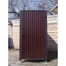 Фото 7 Забор ворота калитка из профлиста под ключ 302626
