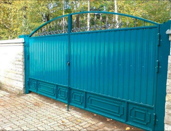 Фото 3 Распашные ворота,въездные ворота,Кривой Рог 331684