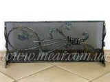 Каминная решетка Букет-2 арт.kpr.25