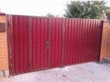 Фото 8 Забор ворота калитка из профлиста под ключ 302626