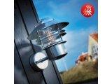 Фото  1 Фасадный cенсорный светильник Nordlux Blokhus Е27, оцинкованная сталь 2084795
