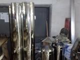 Дымоходы из нержавеющей стали для котлов и каминов и нестандартные комплектующие к ним