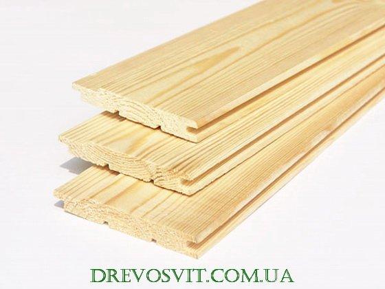 Фото 2 Евровагонка деревянная Киев 316385