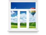 Пластиковое окно с фрамугой 1800х1700 (1 створка)