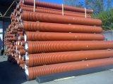 Труба гофрированная 250х6000мм для наружной канализации