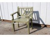 Фото  2 Кресла деревянные, 850х620х550мм. Сосна, цвет на выбор. www.altaystroy.com.ua 0678330225 2036734
