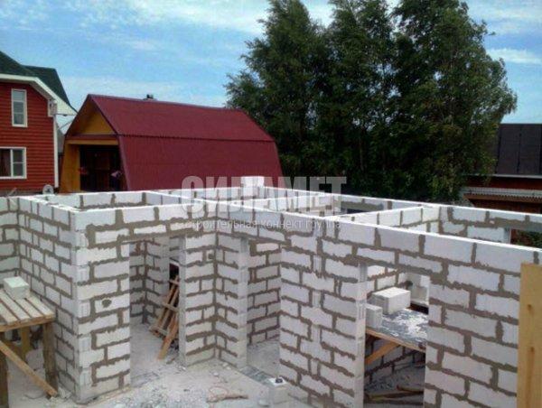 Фото 3 Строительство домов под ключ из пеноблока, газоблоков 328192