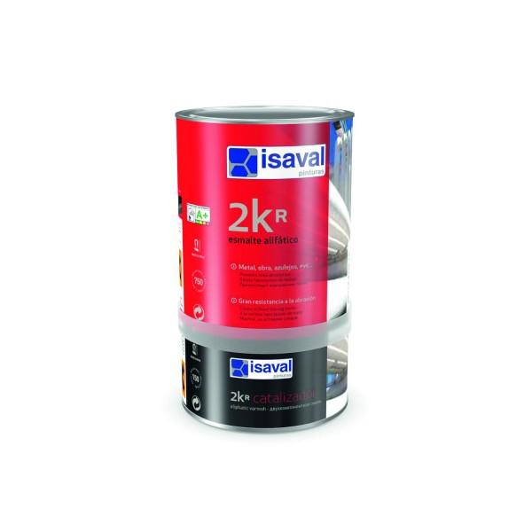 Полиуретановая двухкомпонентная краска повышеной твёрдости, прозрачная, для всех видов металлов 2КР 4л до 48м2