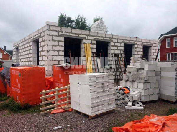 Фото 2 Строительство домов под ключ из пеноблока, газоблоков 328192