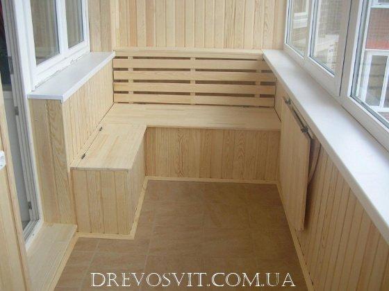 Фото 3 Вагонка деревяна сосна Судова Вишня 326964