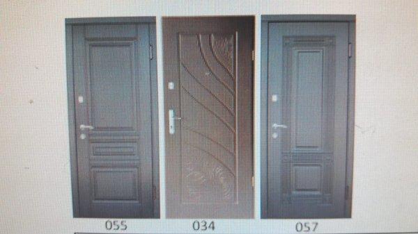 Фото 1 Двері вхідні металеві моноліт з 3 контурами ущільнення 7000грн 336742