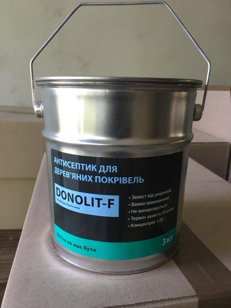 Фото 2 Антисептик для дерева Donolit-F (Донолит) 341559