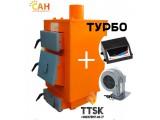 Котел утилизатор на твердом топливе САН Эко (Т) мощностью 13 квт с электронной автоматикой