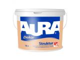 Фото  1 Aura Dekor Struktur Структурная краска для фасадов 10л 1806703