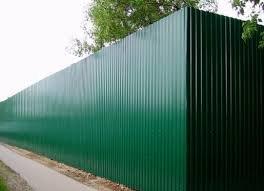 Фото 1 Забор ворота калитка из профлиста под ключ 302626