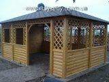 Фото 2 Беседки деревянные больших размеров для кафе, баров, летних площадок 29626
