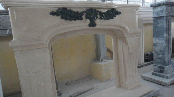 Фото  1 Камины мраморные Бердянск порталы мраморные размер 1440x1080x260mm 141587