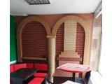 Фото  1 Гибкий кирпич на сетке и полотне для наружного и внутреннего применения из мраморной крошки и кварцевого песка (клинкер) 2136432