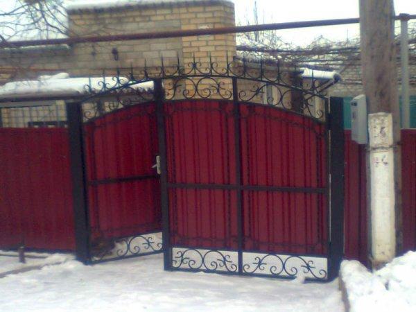 Фото 1 Распашные ворота,въездные ворота,Кривой Рог 331684