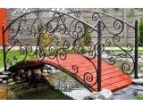 Декоративные мостики из металла