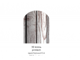 Фото  1 Металлический штакетник ЗД Ясень, односторонний, 0,4мм, ширина 13см 2358864